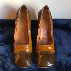 Italian high heeled shoe